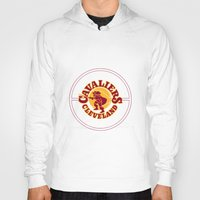 lebron Hoodies featuring Cavaliers All In C by DeBUM