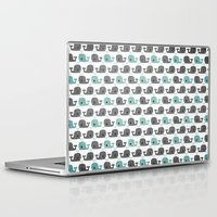moby Laptop & iPad Skins featuring Moby by Tradewind Creative