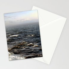the sea. Stationery Cards