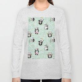 Panda Pattern 04 Long Sleeve T-shirt