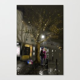 The Last Gift of Christmas Canvas Print