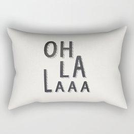 OH LA LAAA Rectangular Pillow