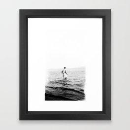 89 Framed Art Print