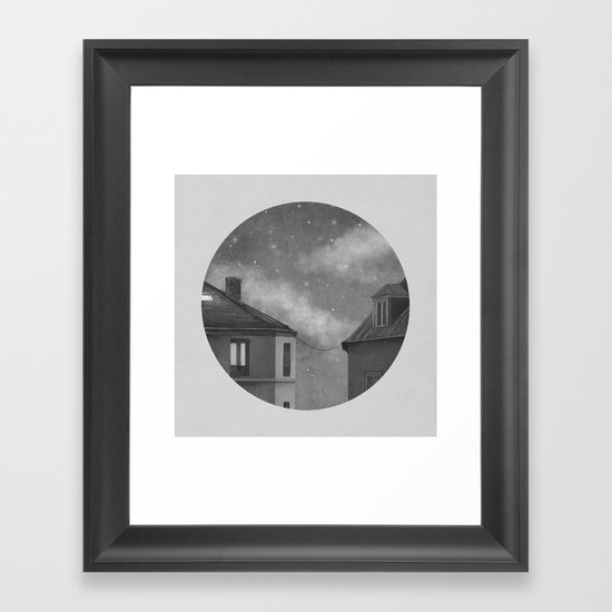 Rooftoppers - Chapter 17  Framed Art Print