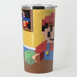 Game over Mario Travel Mug
