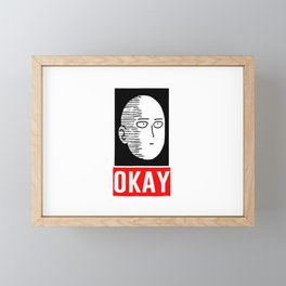 Okay Framed Mini Art Print