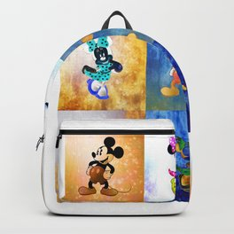 Nine Minnie/Mickeys Backpack