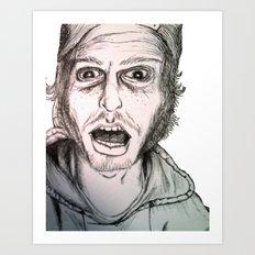 Dusty Art Print