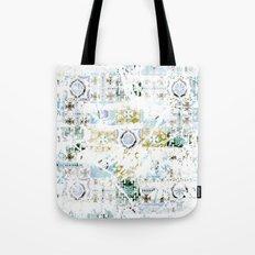 Distressed Tile Tote Bag