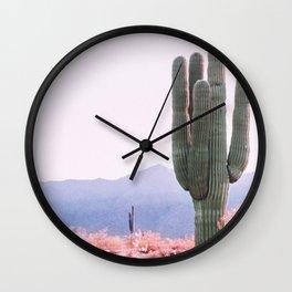 Warm Desert Wall Clock