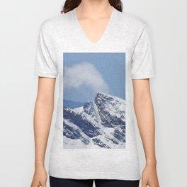 """Veleta mountain"". Aerial photography Unisex V-Neck"