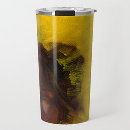 Megan, Fine Art Oil Painting Portrait Print Travel Mug