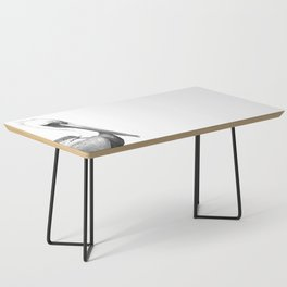 Black and White Pelican Coffee Table