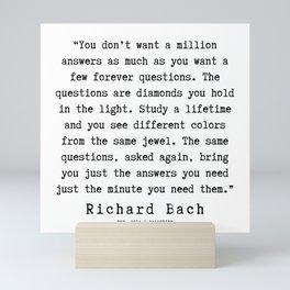 103   | Richard Bach Quotes | 190916 Mini Art Print