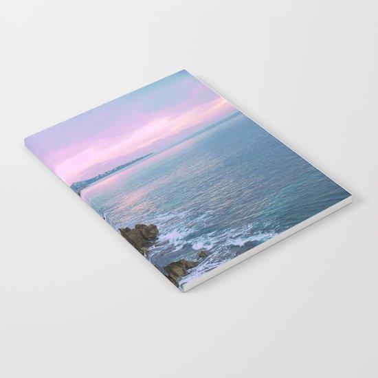 Cefalu Italy Coast Sunset Notebook