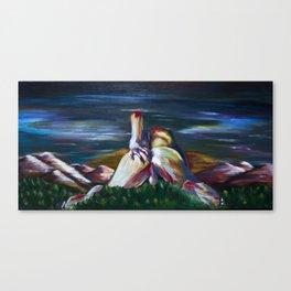 Erotic Landscape. Canvas Print