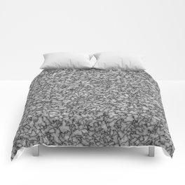 Grey marble. Comforters