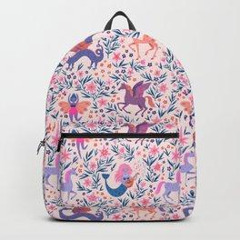 Fairy Folk Floral Backpack