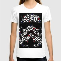 stormtrooper T-shirts featuring Stormtrooper by Saundra Myles