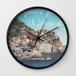 Italia Wall Clock