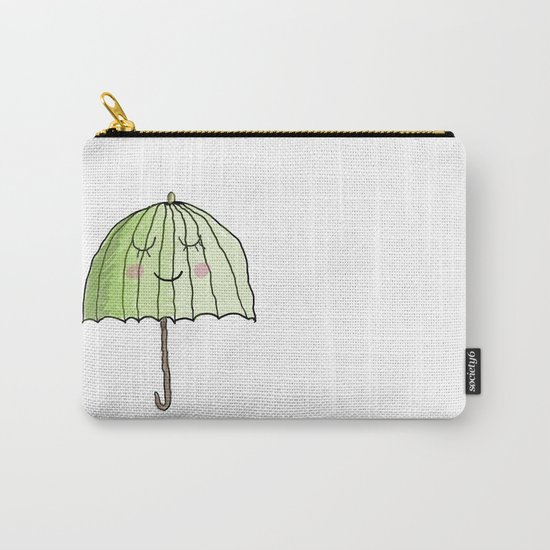 cute UMBRELLA Carry-All Pouch