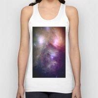 nebula Tank Tops featuring NeBula by 2sweet4words Designs