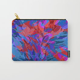 exploding coral Carry-All Pouch