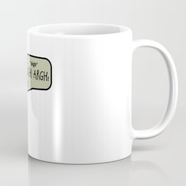 Hipster Frank Color Coffee Mug