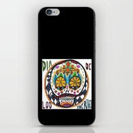 Dia de los Muertos with Braces iPhone Skin
