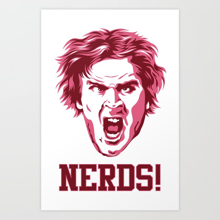 Nerds! Art Print