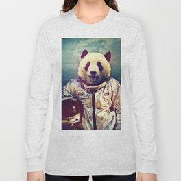 astro panda Long Sleeve T-shirt