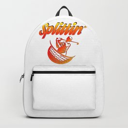 Golfer Gift Idea Splittin' Golf Lover Backpack
