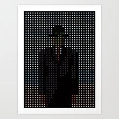 Dot of Man Art Print