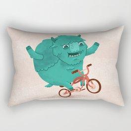 Bicycle Buffalo Rectangular Pillow