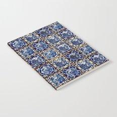 Blue Willow Tiles Notebook