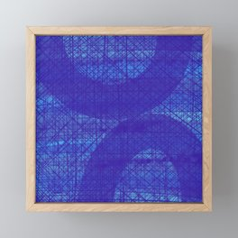 Mood Indigo Framed Mini Art Print