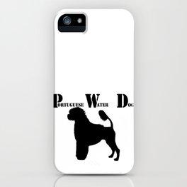 Portuguese Water Dog PWD Lion Cut iPhone Case