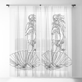 Botticelli Sux Sheer Curtain