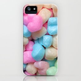 Pastel hearts! iPhone Case