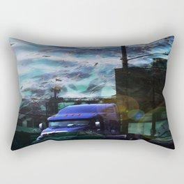Seaweed Trucking Rectangular Pillow