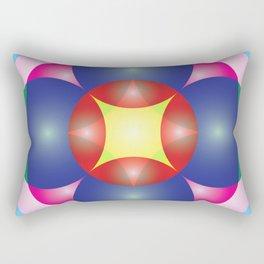 Atoms 27 Rectangular Pillow