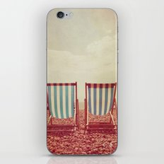 Deck Chairs iPhone & iPod Skin