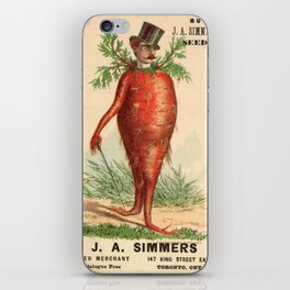 Carrot Top iPhone Skin
