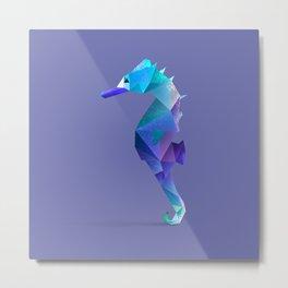 Seahorse. Metal Print
