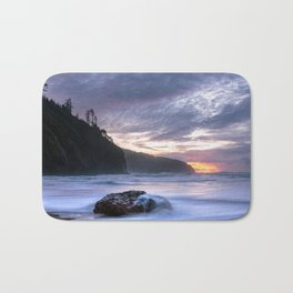 Cape Lookout Sunset Bath Mat