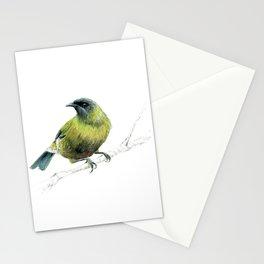 Korimako, the Bellbird Stationery Cards