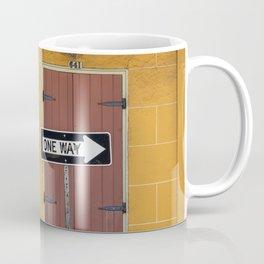 One Way, Love Coffee Mug