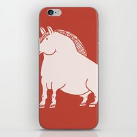 pony iPhone & iPod Skins featuring Pony  by Marc Mif