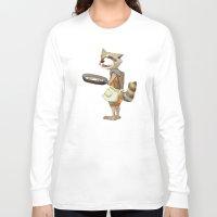 rocket raccoon Long Sleeve T-shirts featuring Rocket Raccoon by Negative Dragon