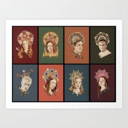 The Saints of Sunnydale  Art Print